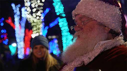 Santa Claus on Whiskey Row