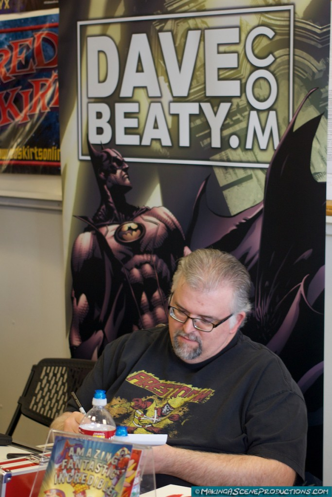 Dave Beaty at Free Comic Book Day 2015 in Prescott Valley, AZ.