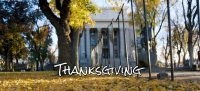 Thanksgiving at Yavapai County Courthouse in Prescott, Arizona