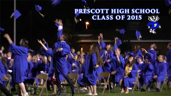 Prescott High School Graduation 2015