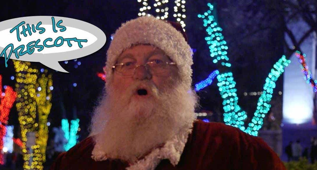 Santa Sings to Arizona's Christmas City-Acker Night