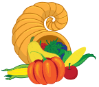 Thanksgiving Cornucopia Horn
