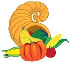 Thanksgiving Cornucopia Horn