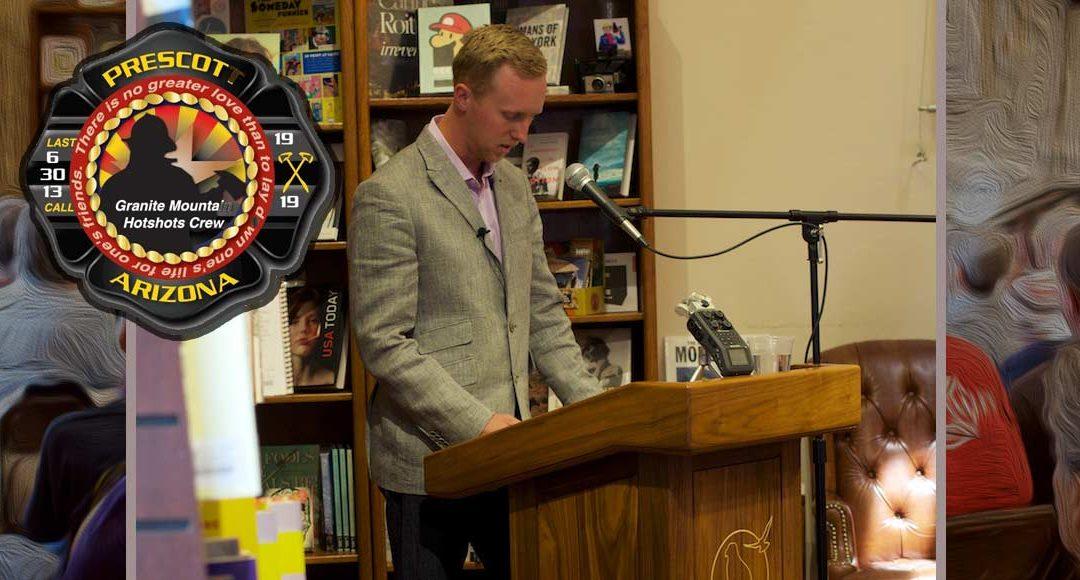 Prescott 19 Hotshots Brendan McDonough Book Signing